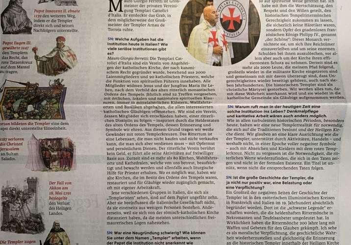 La stampa austriaca parla della scoperta di Arnau de Torroja