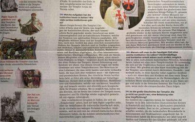 Die Katholischen Templer in der österreichischen Presse